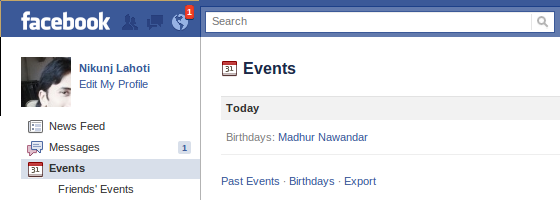 Sync Facebook birthdays with Google Calendar (1/2)