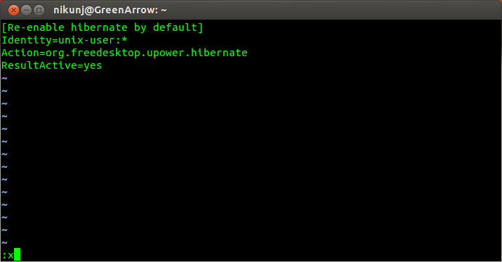 Enable Hibernation on Ubuntu (1/2)