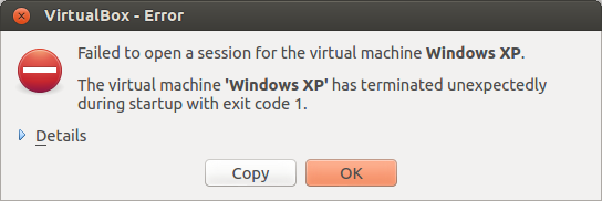VirtualBox vboxdrv problem on Ubuntu (2/2)